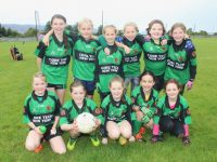 The Churchill team at the Carmel O'Connor Memorial Blitz at Na Gaeil GAA Club on Saturday. Photo by Dermot Crean
