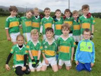 The John Mitchels U8 team at the John Mitchels blitz on Saturday morning. Photo by Dermot Crean