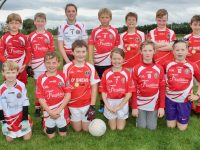 The St Pats U10 team at the John Mitchels blitz on Saturday morning. Photo by Dermot Crean