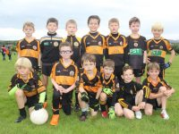 The Austin Stacks U8 team at the John Mitchels blitz on Saturday morning. Photo by Dermot Crean