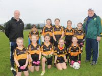 Niall Lucey and Pat Reidy with the Austin Stacks team at the Carmel O'Connor Memorial Blitz at Na Gaeil GAA Club on Saturday. Photo by Dermot Crean