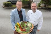 Ken Tobin of Yummy Cafe and John Harty of Taste Kerry look forward to the Taste Trail at this year's Tralee Food Festival. Photo by Dermot Crean
