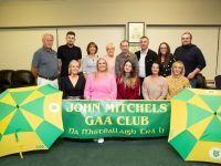 Contestants, front row left to right: Aileen Galvin, Debbie Guerin, Nadia Woods, Cliona Caplis, Donna Flaherty. Back Row left to right Denis Mannix, Jordan Bowler, Rosemary Broderick, Mary Higgins, George Lowe, Brian Hurley, Jackie O'Mahony and Wayne Enright.