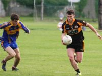 Action from the Austin Stacks v Kenmare District game. Photo by Adrienne McLoughlin
