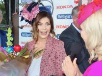 at McElligott's Honda Ladies Day at Listowel Races on Friday. Photo by Dermot Crean