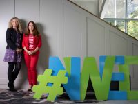 Launching the upcoming event for National Women's Enterprise Day were Fiona Leahy, Business Advisor, Kerry Local Enterprise Office and Joan Walsh, Partnership International and ambassador for National Women's Enterprise Day in the south west region.