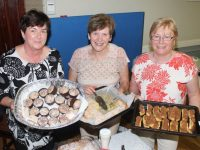 Margaret Doody, Bridie O'Connor and Margaret Crean at the coffee morning in aid of Kerry Hospice at Na Gaeil GAA Club on Thursday. Photo by Dermot Crean