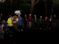 A candlelight vigil in Pearse Park to mark World Suicide Prevention Day.