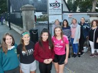 Launching a new youth club for Tralee were, in front; Jenny Slattery, Elizabeth Slattery, Niamh Higgins and Katie Kennedy. At back; Orlad Higgins, Olga Slattery, Carol Nyhan.