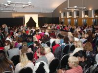 The big crowd at the ADAPT Fashion Show at Ballyroe Heights Hotel on Friday night. Photo by Dermot Crean