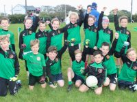 Churchill players at the Siobhan Cotter Tournament at Churchill GAA on Sunday. Photo by Dermot Crean