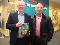 Deputy John Brassil and Cllr John Joe Culloty at the launch of 'A Century Of Politics In The Kingdom'  in Tralee Library on Thursday evening. Photo by Dermot Crean
