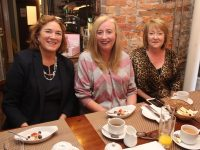 Grace O'Donnell, Catherine White and Mary Griffin at the Connect Kerry Business Breakfast at Croí Restaurant to celebrate National Women's Enterprise Day. Photo by Dermot Crean