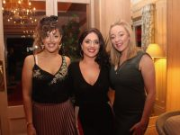Rosie McGrath, Julie McGrath and Sarah Rael at the Connect Kerry Hospitality Awards at Ballygarry House Hotel on Tuesday night. Photo by Dermot Crean