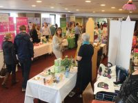 Part of the crowd at the Horan's Health and Wellness Fest at the Manor West Hotel on Saturday. Photo by Dermot Crean