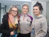 Shania Griffin, Oonagh O'Keeffe and Róisín Downey at the IT Tralee Open Day on Friday morning. Photo by Dermot Crean