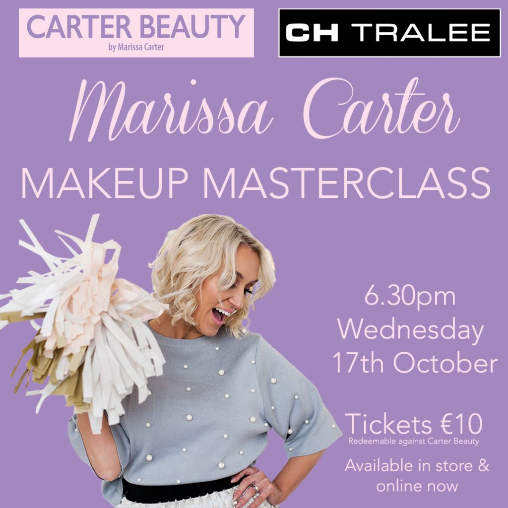Beauty Entrepreneur To Give Make-Up Masterclass At CH Tralee