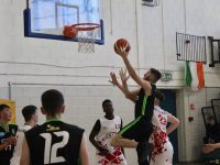 Action from the U19 game at Mercy Mounthawk gym. Photo by Dermot Crean