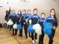 Cheerleading fun at Presentation. Photo by Dermot Crean