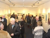 at the opening of the 'Off The Rails' exhibition in Kerry County Museum on Thursday night. Photo by Dermot Crean