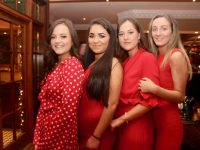 Amy Maher, Katelyn Galvin, Zoe Mulqueen and Sophie McAllen contestants in the Ballymac GAA Strictly Come Dancing. Photo by Dermot Crean