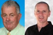 Robert Beasley and Tom Barry at Sinn Féin's candidates in the Listowel Electoral Area next year.