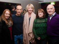 Deirdre and Paul Ruane, Melanie O'Donnell and Susan and Aidan Kelly at the Declan O'Rourke concert on Thursday night in Benners Hotel. Photo by Dermot Crean