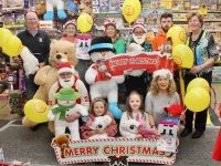 Launching the St Vincent de Paul Caballs Toymaster Christmas Toy Appeal were, in front Miriam Deregibus, Olivia Crean, Caragh Kelliher and Treasa Walsh. Back; Maurice Laide, Marian Moore, Julie Gray, Cian Doherty, Ann Laide. Photo by Dermot Crean