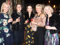 Mags Savage, Aleksandra Nowicka, Rachel O'Shea, Pat Clapham and Christina Hickey from All Seasons Florists at the Connect Kerry Ladies Luncheon and Fashion Afternoon at The Ashe Hotel on Sunday. Photo by Dermot  Crean