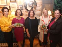 Launching the upcoming Connect Kerry Ladies Lunch were Fashion writer Catherine Keane, Aoife Hickey of The Ashe Hotel, Margaret Kissane of Connect Kerry, Toireasa Ferris (MC for the event) and General Manager fo The Ashe Hotel Ruth O'Sullivan. Photo by Dermot Crean