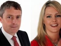 Cllrs Pa Daly and Toireasa Ferris.