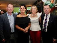 Liam and Noelle Kingston and Agnes and Morgan Sheehy at the Na Gaeil GAA Club 40th anniversary celebration at the clubhouse on Saturday night. Photo by Dermot Crean