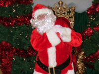 Santa is back in Manor West Shopping Centre from this weekend.