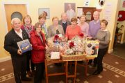 Looking forward to the annual St John's Bazaar were, from left; Vincent O'Sullivan, Eileen Murrihy, Celine O'Callaghan, Nora Maher, Margaret Crean, Fr Tadhg Fitzgerald, Bridie O'Connor, Mary Hayes, John Murphy and Ita Behan. Photo by Dermot Crean