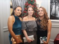 Amber Galvin, Karla White and Chloe Galvin at the IT Tralee SVP Society Enchanted Evening Ball in Ballyroe Heights Hotel on Thursday night. Photo by Dermot Crean