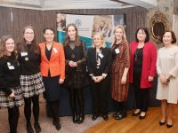 At the Kerry ETB 'EmPowerMe' event at The Rose Hotel on Thursday were Aisling Coughlan and Néidin O'Sullivan of Killarney Community College, Cllr Aoife Thornton, Guest speaker Louise O'Neill, Cllr Norma Moriarty, Cllr Toireasa Ferris and Anne Marie Hassett of Kerry ETB. Photo by Dermot Crean