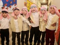 Junior Infants pupils from Moyderwell Mercy Primary School who took part in the Christmas Concert on Thursday. Photo by Dermot Crean