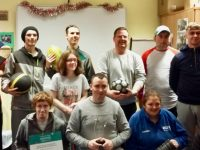 A group from NLN Kerry which won a Sporting Chance award.