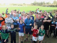 Some of participants at the Tralee RFC Family Fun Run on St Stephen's Day. Photo by Dermot Crean