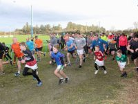Setting off on the Tralee RFC Family Fun Run on St Stephen's Day. Photo by Dermot Crean