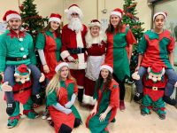 KCFE students are bringing Santa's Grotto to primary schools in Tralee over the coming weeks.