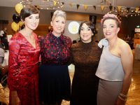 Mairead Roche, Helen O'Leary, Aoife O'Connell and Louise Hanafin at the Abbeydorney GAA Club Social at Ballyroe Heights Hotel on Saturday night. Photo by Dermot