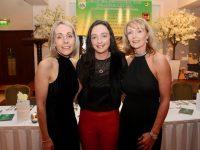Miriam O'Sullivan, Marie O'Shea and Kay Cronin at the 29th Kerry GAA Supporters Social at Ballygarry House Hotel on Saturday night. Photo by Dermot Crean