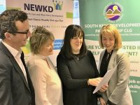 Launching the Awards Programme were SICAP manager in NEWKD Robert Carey, Elaine Kennedy of NEWKD, Enterprise Officer with NEWKD Eibhlis Hanrahan, and Enterprise Officer with SKDP Joanne Griffin.
