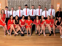 The contestants in this year's Ballymac GAA Strictly Love Dancing.
