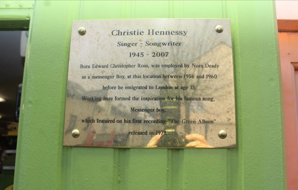 New Plaque Adds To Christie Hennessy Trail Around Tralee