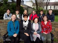 Front Left to right Kate Kennelly (Arts Officer ,Creative Ireland Kerry Co-Ordinator), Mayor of Kerry Cllr, Norma Foley, Ann O Dwyer, Director of Schools Youth and Music Kerry EETB., Una O Sullivan (KDYS) Back Left to right  Padraig Harrington, Liam Murray, Miriam Galvin (Youth Officer, Kerry ETB) Marion O'Toole Kerry ETB, Oisin Murray and Brian Devane