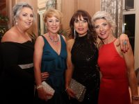 Lillian Shortt, Caroline Martin, Colette Mallon and Edel Sheehan at the Diamond Ball in aid of Enable Ireland Kerry at Ballygarry House Hotel on Saturday night. Photo by Dermot Crean