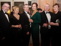 Conor Hoey, Kathleen Hoey, Jimmy Litchfield, Brenda Litchfield Kevin Cotter and Fiona Kirby at the Diamond Ball in aid of Enable Ireland Kerry at Ballygarry House Hotel on Saturday night. Photo by Dermot Crean