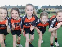 The 3rd/4th class girls team from Gaelscoil Mhic Easmainn who came 4th in their category. Photo by Dermot Crean